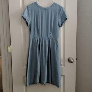 H&M Light Blue Summer Dress